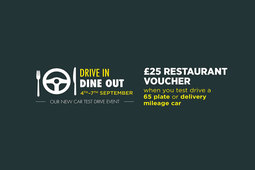 Eat out on us with Arnold Clark's 'Drive In Dine Out' event