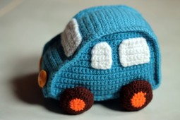 How to crochet a motoring gift