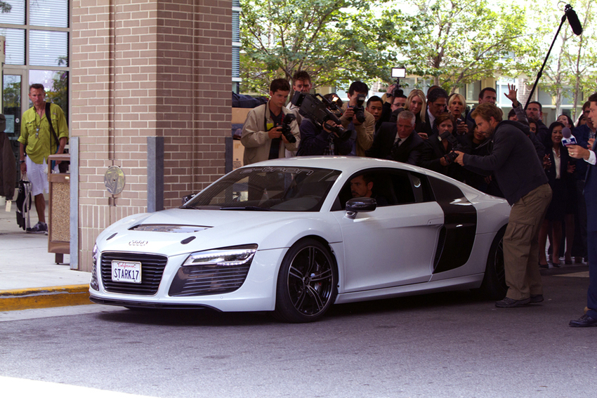 Robert Downey Jr Audi R8