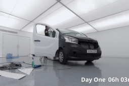 Arnold Clark's Digital Print team show you how to vinyl wrap a van in 2 days
