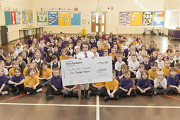 Teigan Brodie raises £1,933 for the Zak Scott Braveheart Foundation