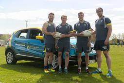 Arnold Clark sponsors Warrington Wolves rugby team