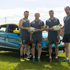 The car that has been donated to the Warrington Wolves Foundation.