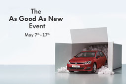 The Volkswagen 'As Good As New' Event 7th–17th May