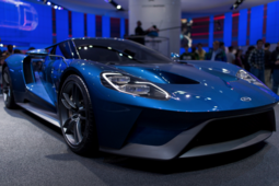 2017 Ford GT testing started in Canada