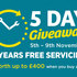 Arnold Clark's 5 Day Giveaway