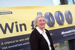 First winner of 'Buy a Tyre, Win £1000' competition announced