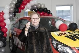 Arnold Clark announces 'Buy A Tyre, Win A Car' winner