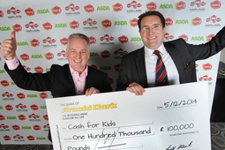 Arnold Clark donates £100,000 to Cash For Kids