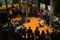 University of Glasgow reveals racing car