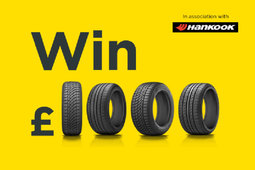 Arnold Clark launches new promotion 'Buy a Hankook Tyre, Win £1,000'