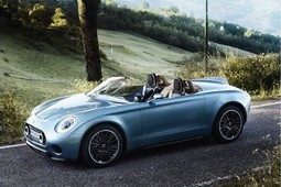 New MINI concept car – meet the Superleggera