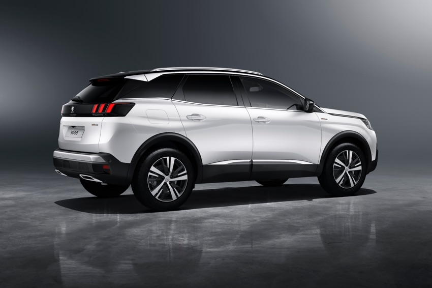 the new peugeot 3008 suv arrives in showrooms january 2017. Black Bedroom Furniture Sets. Home Design Ideas