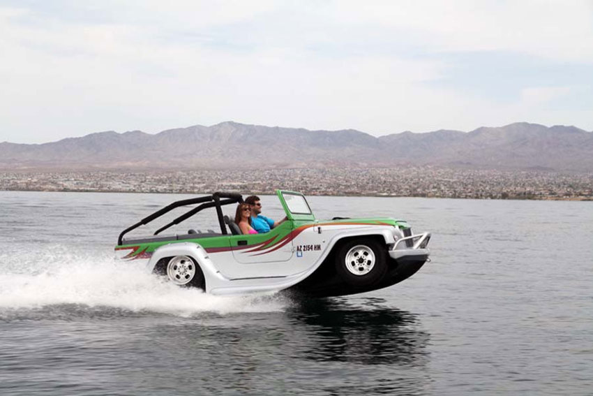 5 Of The Best Cars That Can Float On Water