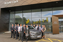 Arnold Clark opens Hyundai's largest UK showroom