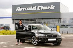 Arnold Clark sponsors captain of Scotland Women's National Football Team Gemma Fay