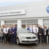 The smiling faces of staff at Bathgate Volkswagen ready to welcome you.
