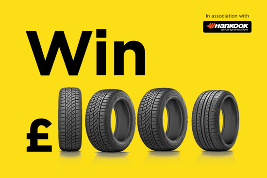 Buy a Tyre, Win £1,000