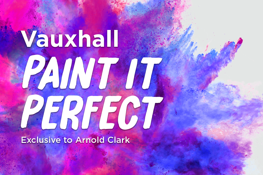 Paint it Perfect with Vauxhall
