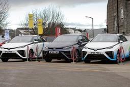 Aberdeen Toyota becomes Scotland's first hydrogen specialist service centre