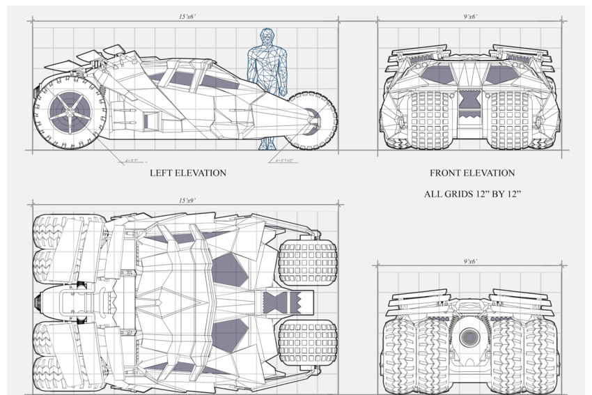 596 Concept To Creation Original Movie Car Design Sketches on the original delorean