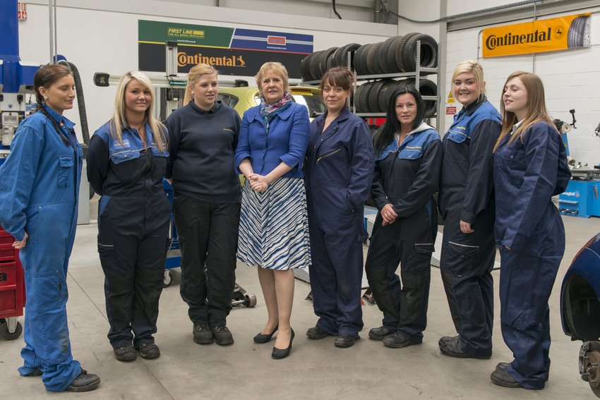 Gtg Training Welcomes Nicola Sturgeon For Scottish