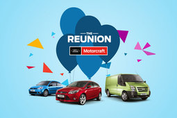 The Ford Motorcraft Reunion event