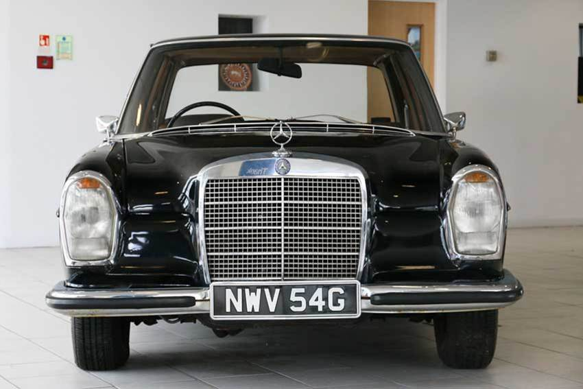 Sir arnold clark s classic cars part 6 1960s onwards for Old mercedes benz parts