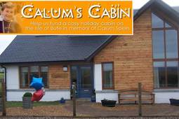 The Kiltwalk: Spotlight on Calum's Cabin