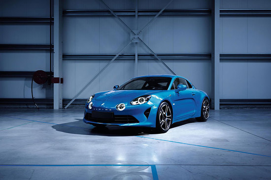 Renault is taking on Porsche with its sporty Alpine A110