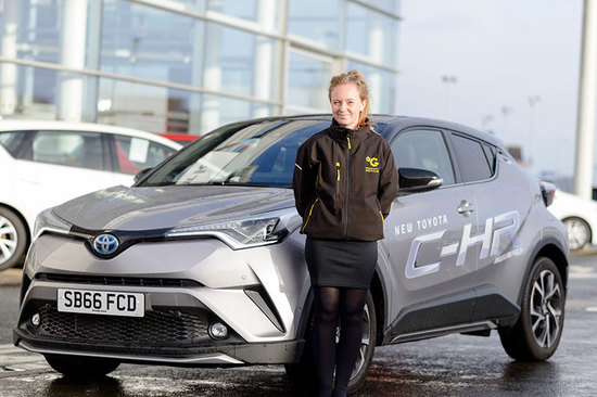 One of our Product Geniuses will deliver the C-HR to your home or work