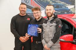 David McBride wins Business Apprentice of the Year 2016