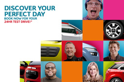 Make your perfect day with a 24-hour Citroën test drive