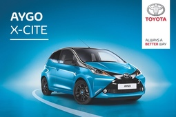 Enjoy one year's free insurance when you buy a Toyota AYGO