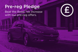 Save hundreds on road tax with the Arnold Clark Vauxhall Pre-Reg Pledge