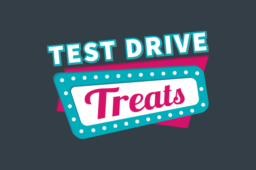 Test Drive Treats | 17th–26th March