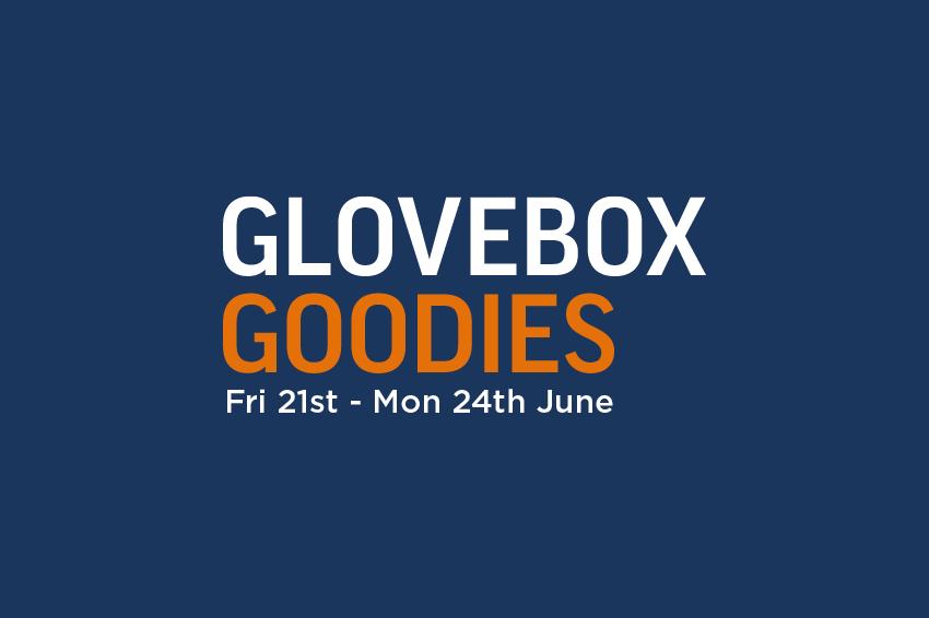 Glovebox Goodies at Arnold Clark.