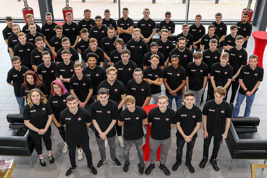 Arnold Clark is recruiting for 300 apprentices