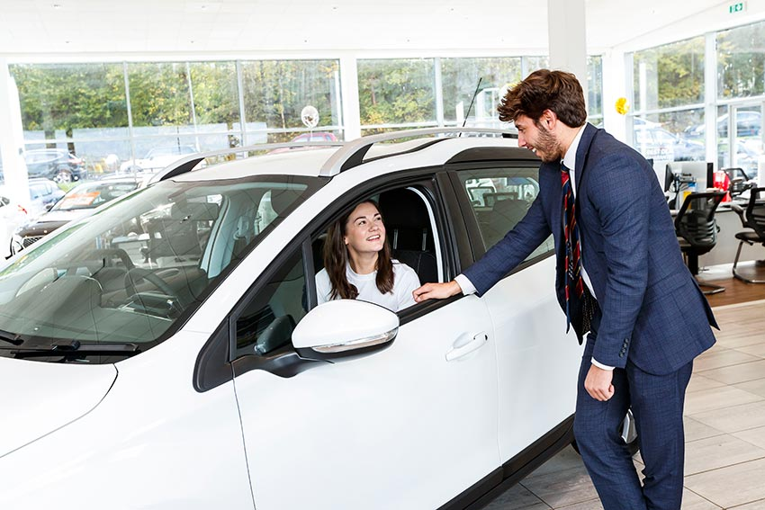 Confused about car finance? Our sales executives can help.