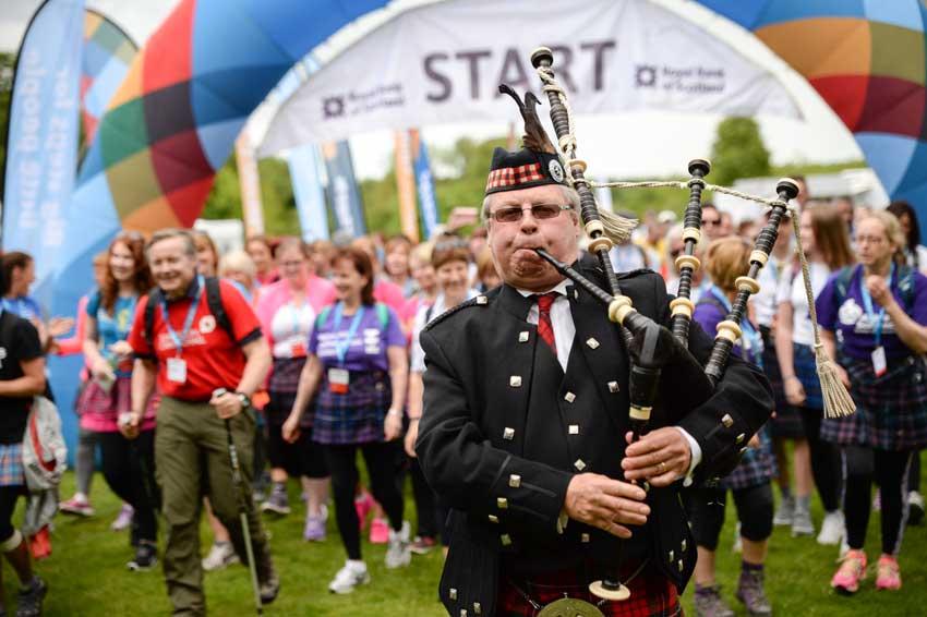 The Kiltwalk returns to Aberdeen after a successful 2016 event.