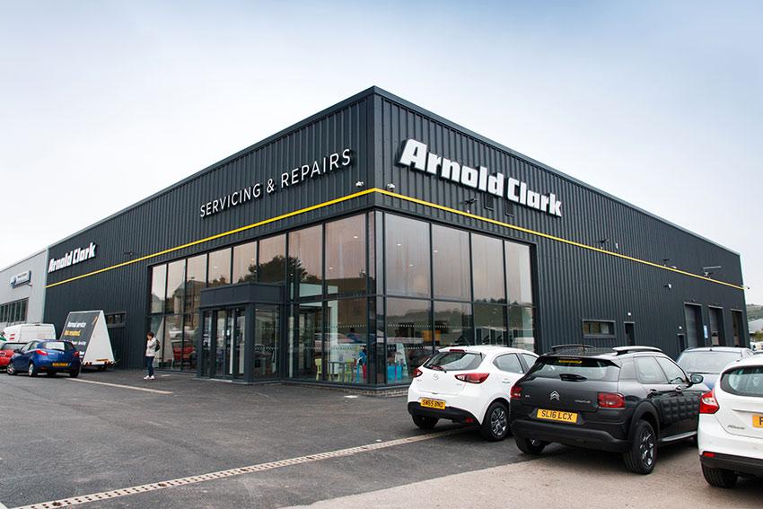Arnold Clark S Aberdeen Service Centre Is Now Open