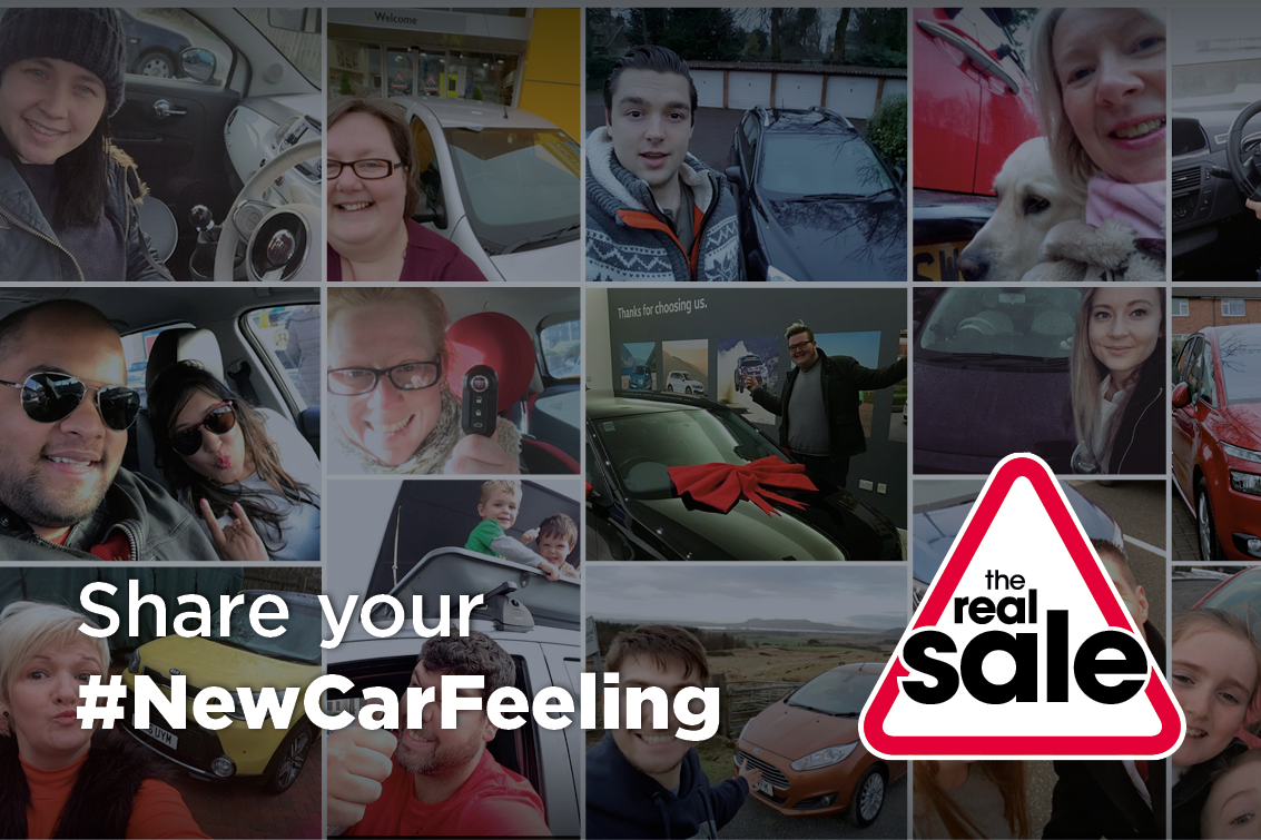 Get that #NewCarFeeling in the Arnold Clark Real Sale.