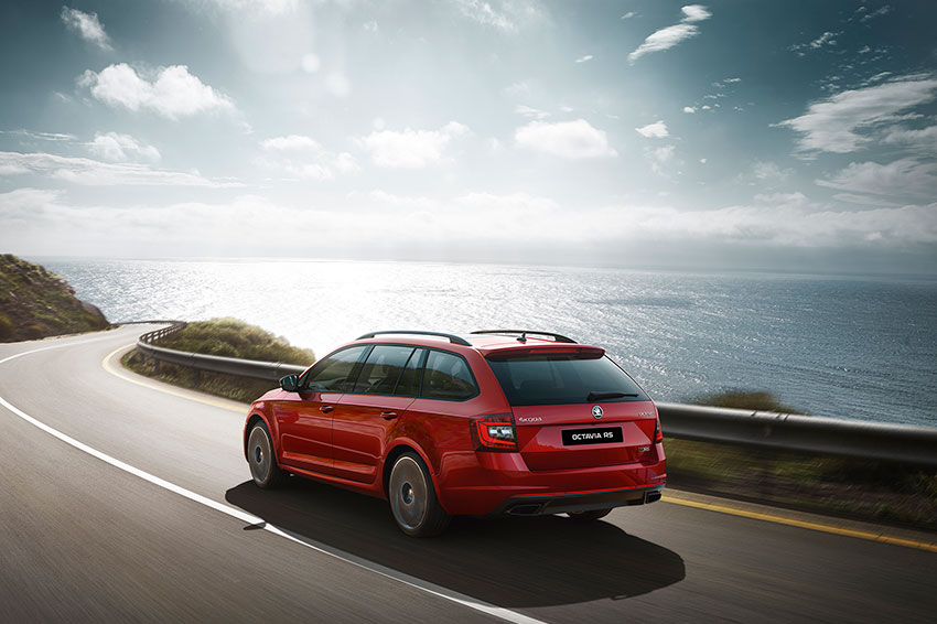 The Skoda Octavia is one of our top estate cars.