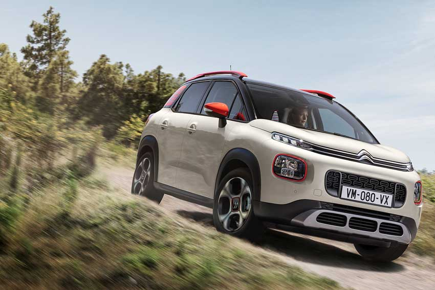 The all-new Citroën C3 Aircross