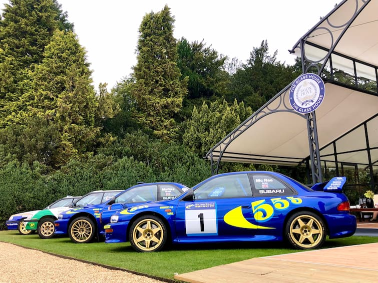 The late, great Colin McRae's WRC Subaru Impreza