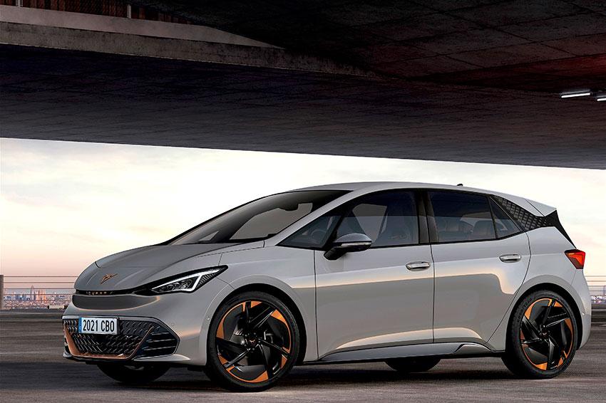 The all-new Cupra Born EV