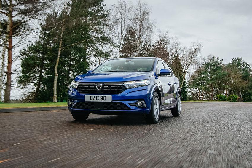 The all-new Dacia Sandero