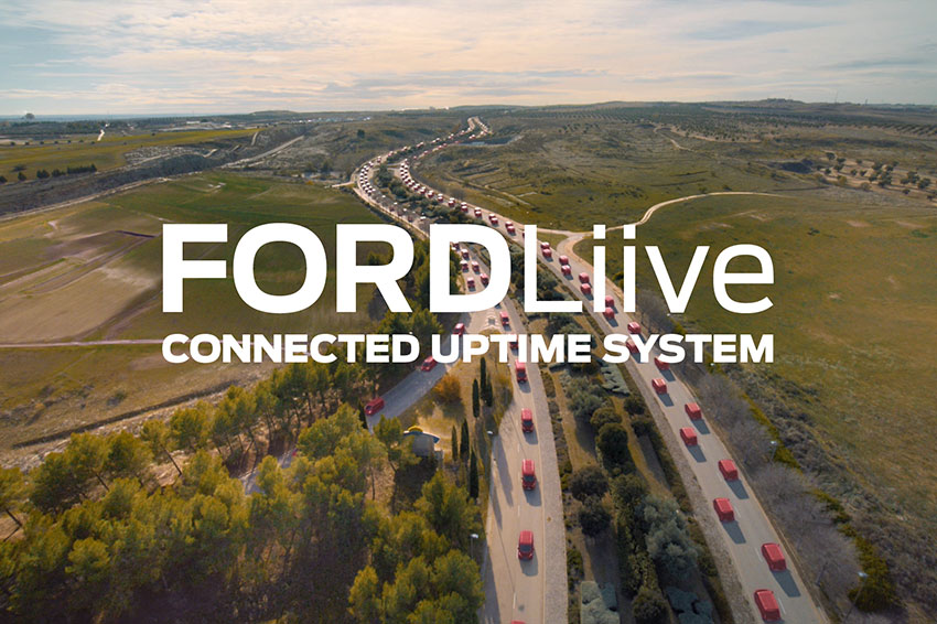 Stay connected with FORDLiive.