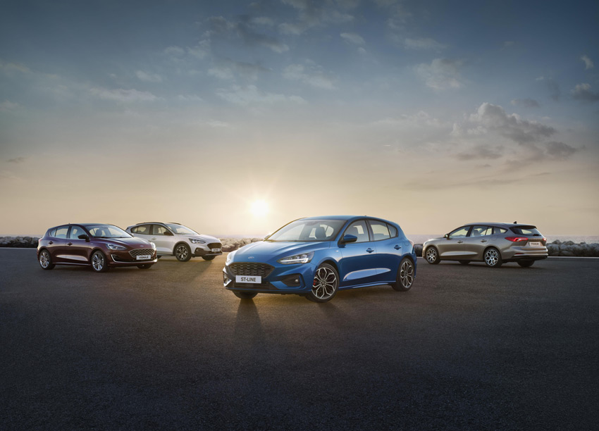 The new Ford Focus range is almost here.