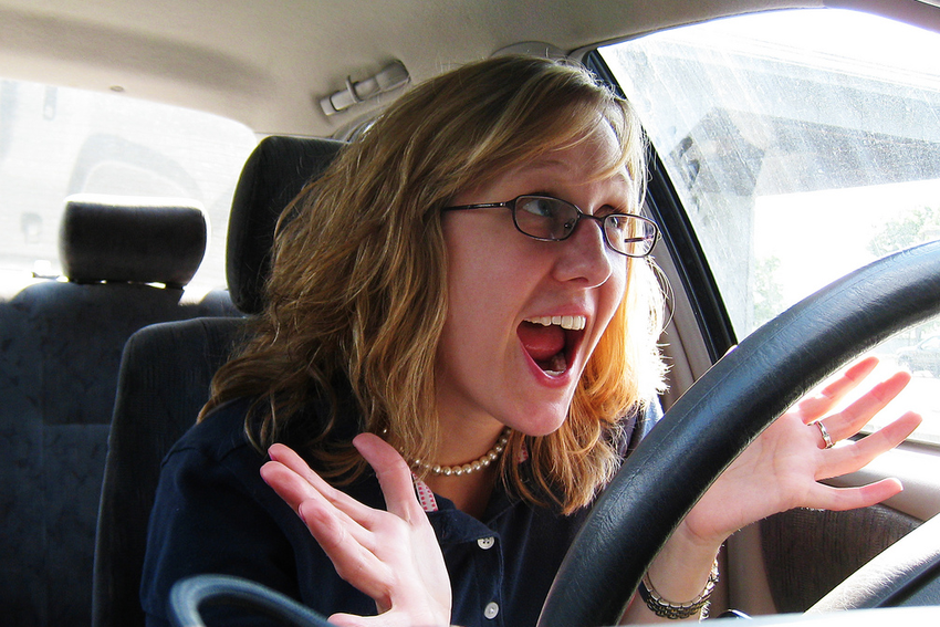 Happy driver! Image by khaybe, CC 2.0 via Flickr